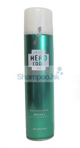 head code hair spray shampoo hk